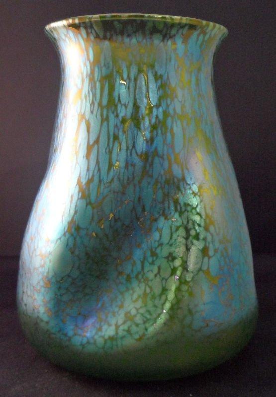 Loetz Iridescent Art Glass