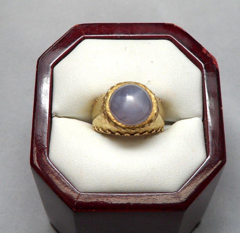 Very Fine 1960's Buccellati Fancy Color Star Sapphire R