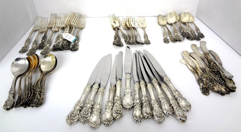 70 Pc. Reed & Barton Francis 1st Sterling Flatware Set