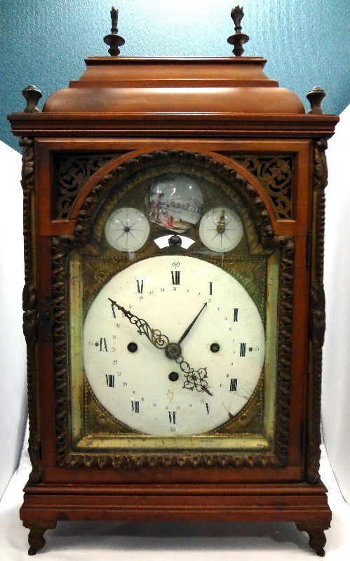 Antique Austrian & Enamel Bracket Clock