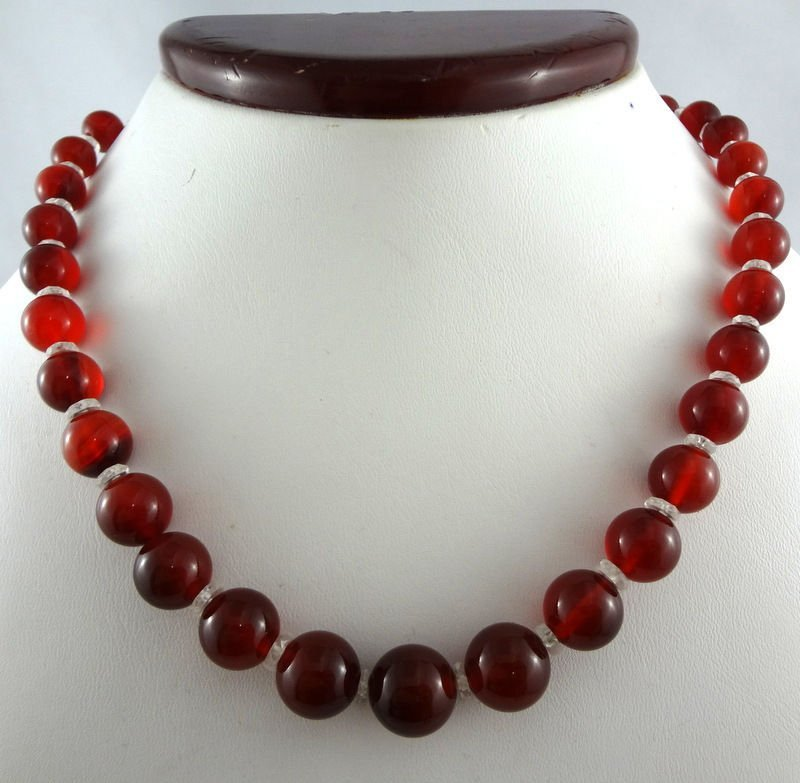 Fine Art Deco and Rock Crystal Necklace