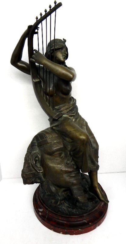 Coudray Bronze Figure of Nude Lady