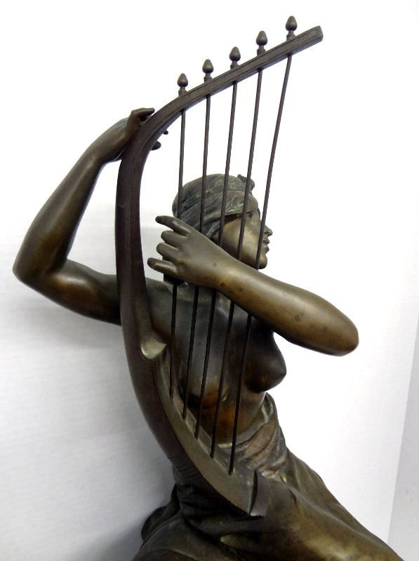 Coudray Bronze Figure of Nude Lady - 2