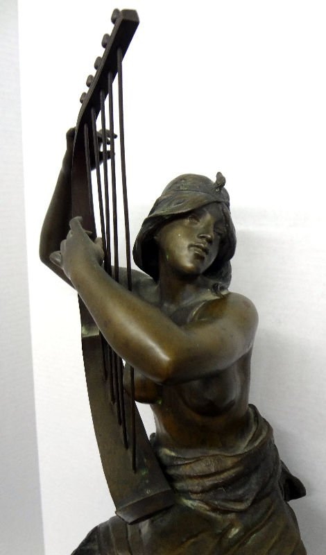 Coudray Bronze Figure of Nude Lady - 3