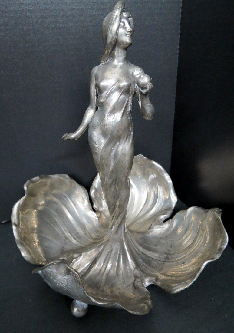 Art Nouveau Figural Centerpiece Mark