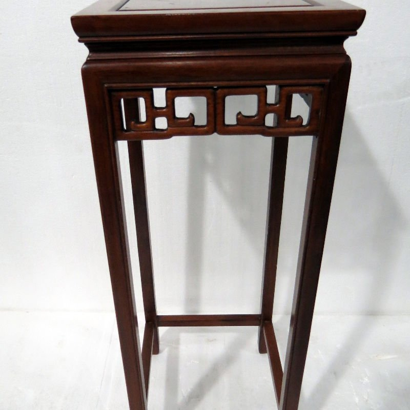 Chinese Finely Carved Square Pedestals