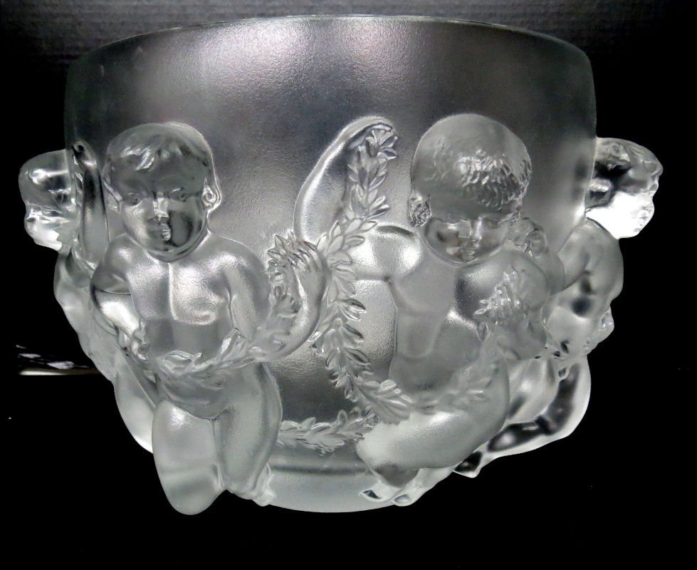 Lalique Luxemburg Crystal Bowl