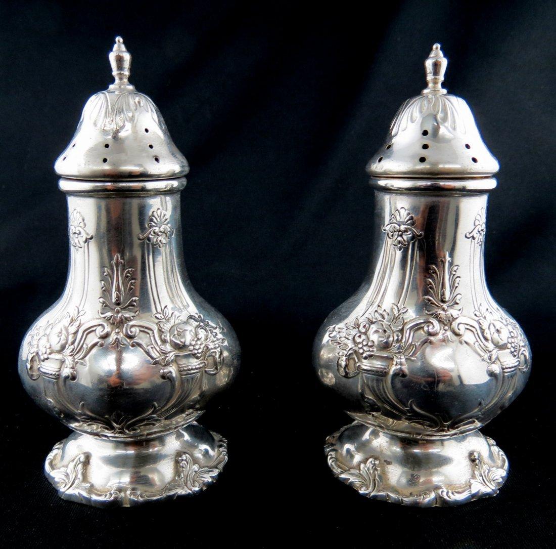 Reed & Barton Francis 1st Sterling Silver Salt & Pepper