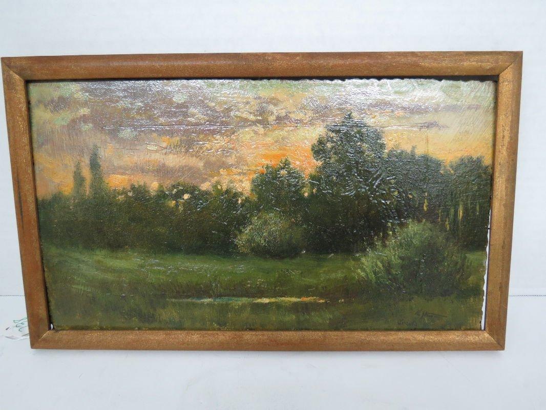 Maud Stumm Oil Painting on Board