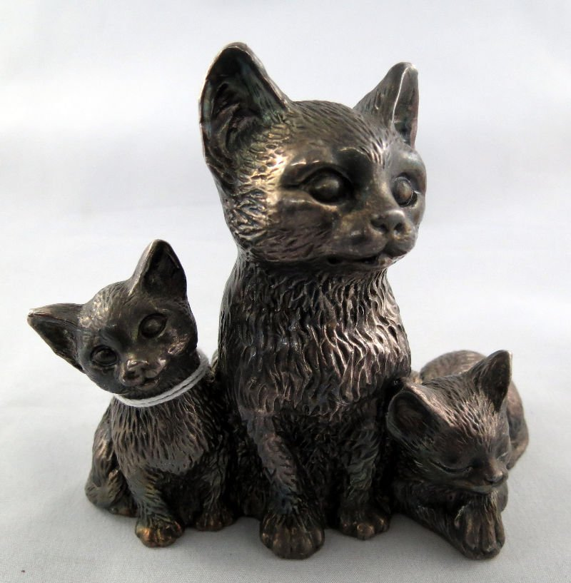 Fatelli Marino Brothers Sterling Silver Italian Figural