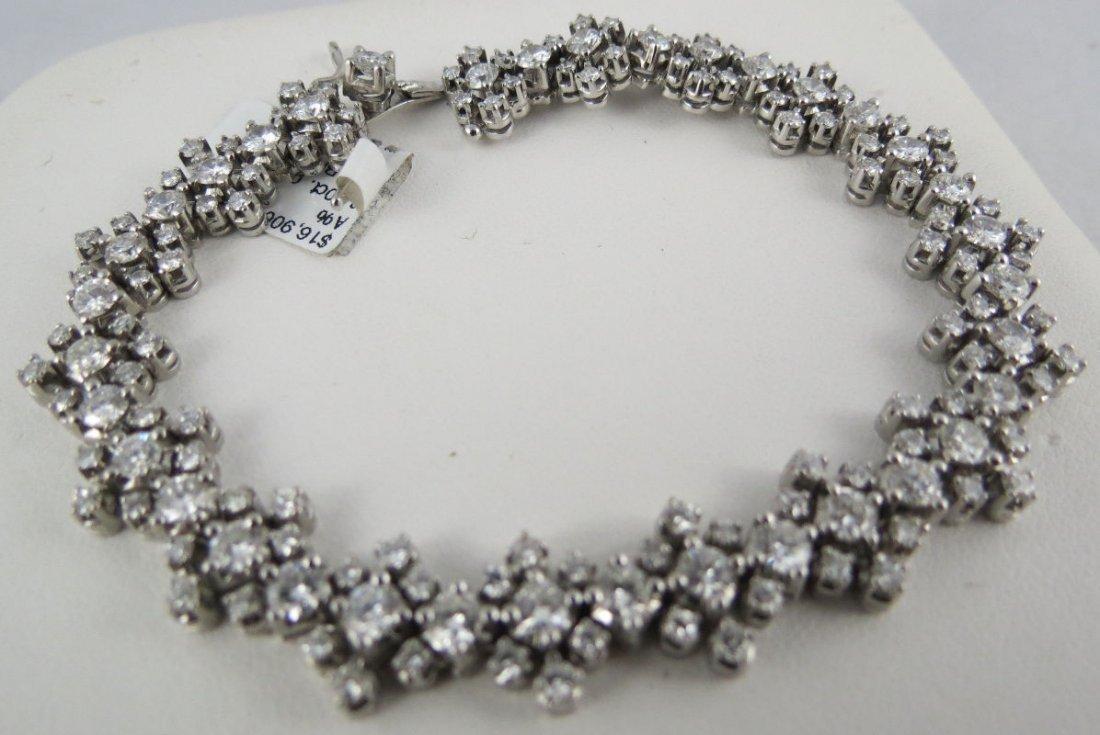18Kt WG Ladies Diamond Bracelet