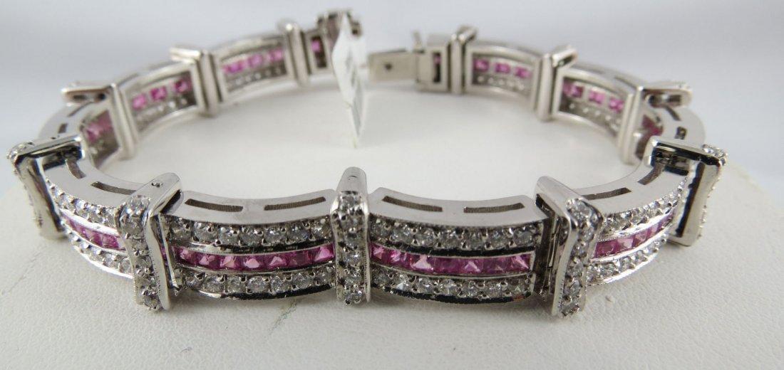 18Kt WG Ladies Bracelet