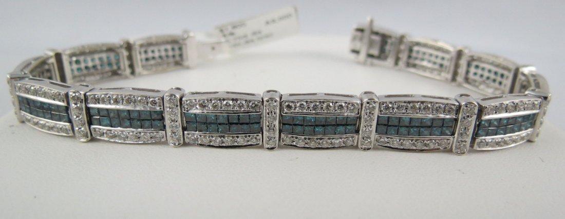 14Kt WG Ladies Bracelet