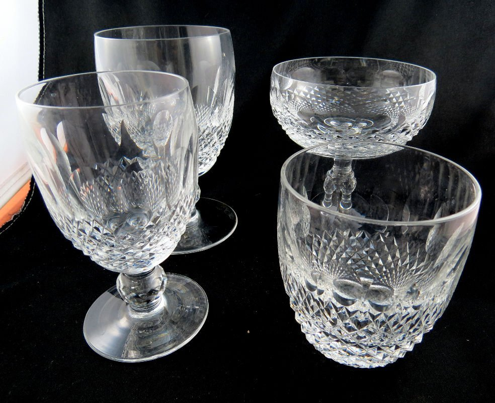 24 Pc. Waterford Crystal Colleen Pattern Stemware