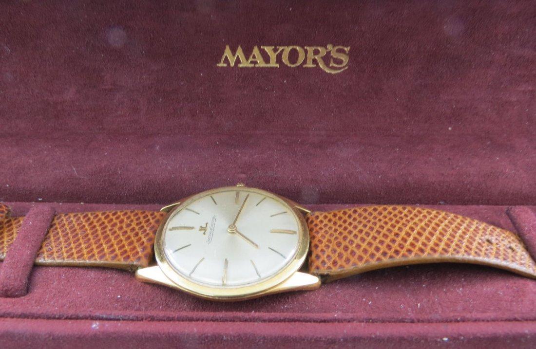 18Kt YG Men's Vintage Jaeger Le Coultre Watch