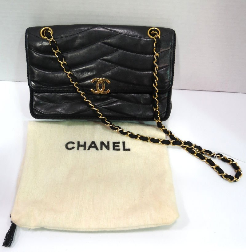 Vintage Chanel Quilted Leather Purse