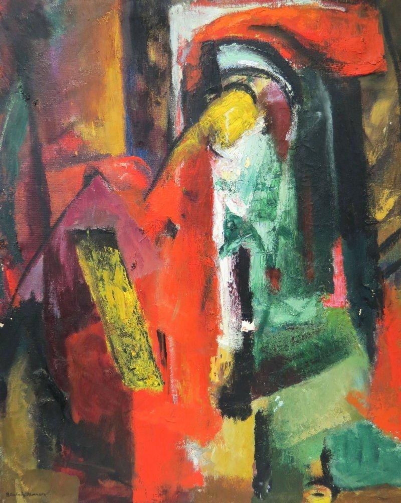Beulah Stevenson American (1890-1965) Oil Painting on C