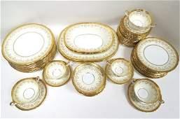 84 Pc. Aynsley English Bone China Set