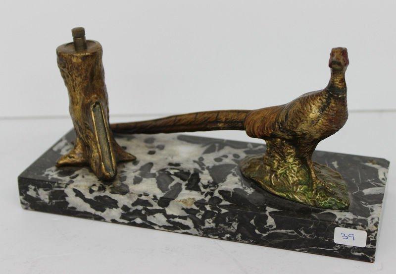 Unique Vienna Bronze Bird Figure