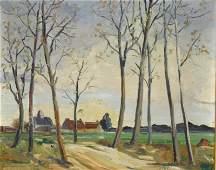 Harold Sleichter Etter (American 1911-1972) Oil