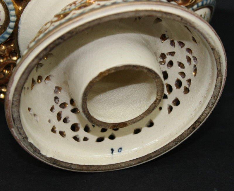 Antique Fischer J. Budapest Porcelain Ewers - 4