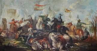 Attributed to Francesco Monti ITALIAN 16851768 Oil