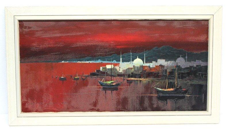 Harry Winkler (German 1923) Oil Painting - 2