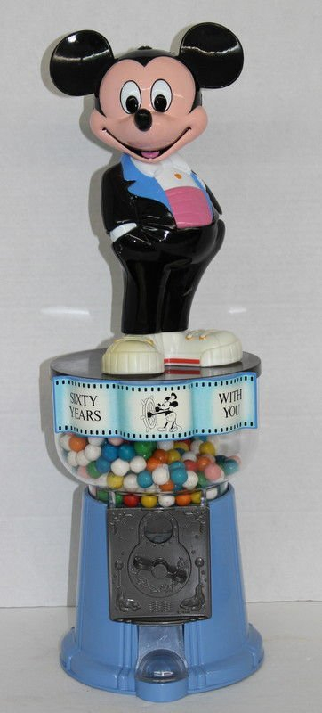 60 Years With You Mickey Mouse Gumball Machine