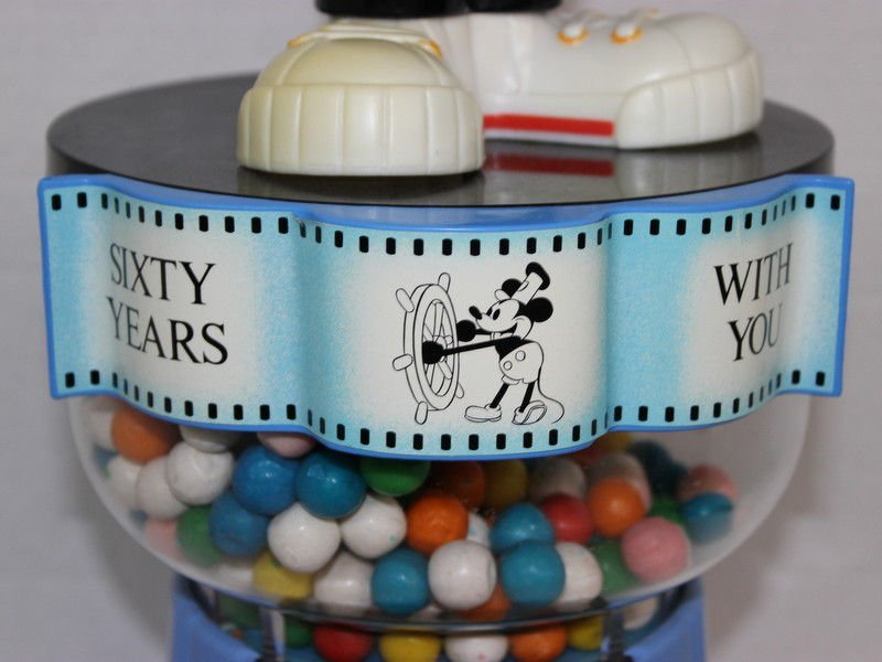 60 Years With You Mickey Mouse Gumball Machine - 2