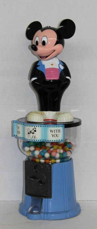 60 Years With You Mickey Mouse Gumball Machine - 3