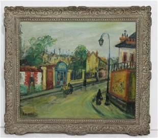 Arbit Blatas (Lithuanian, 1908-1999) Oil Painting