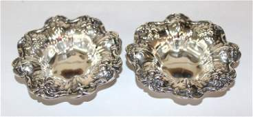 2 Pc Reed  Barton Francis 1st Sterling Trinket