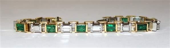 1950s Tiffany  Co Colombian Emerald  Diamond