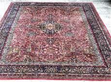 Antique Persian Palace Size Kerman Wool Rug