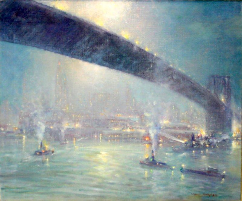 Johann Berthelsen (American 1883-1972) Oil Painting on