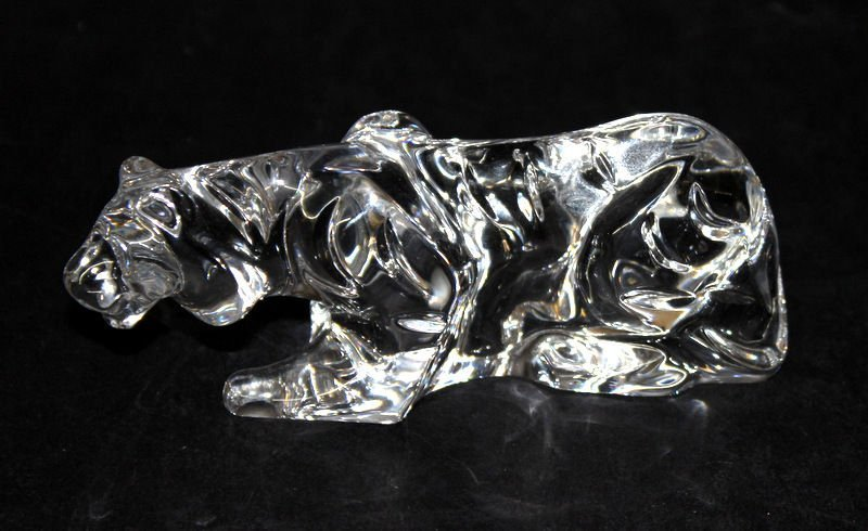 Baccarat Crystal Tiger