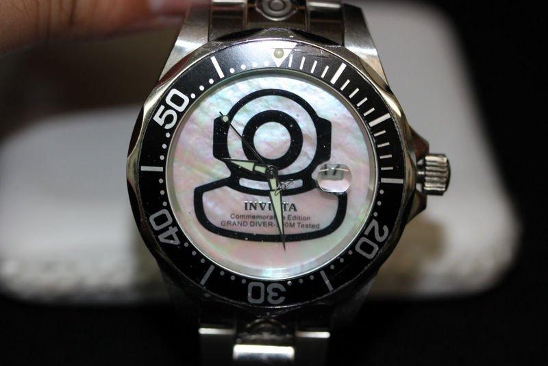 Invicta Grand Diver Commemorative Edition with Mother - 2