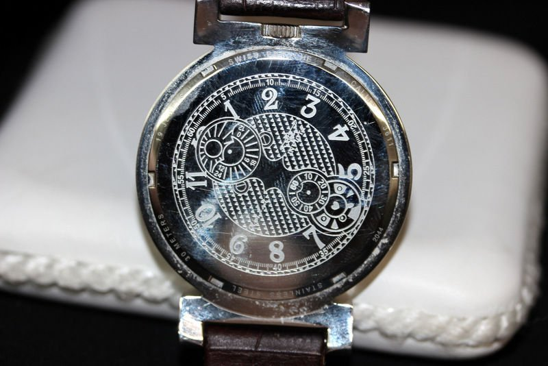 Invicta 3611 Object D Art Swiss Ebauche Manual Moon - 3