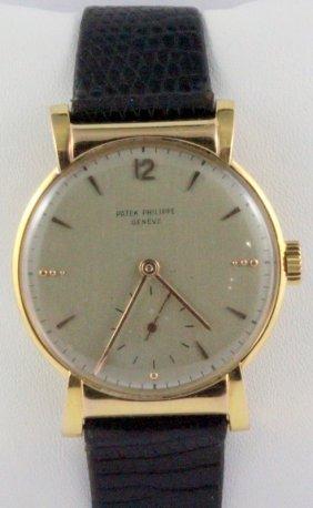 Patek Philippe 1949 Men's Hooded Wristwatch