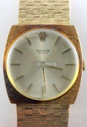 Rolex Cellini 14kt Yg Wristwatch