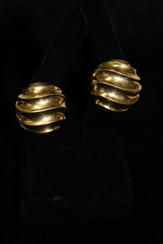 18Kt YG Pomellato Earrings