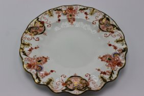 12 Pc. Royal Crown Derby Scalloped Edge Salad Plates