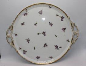 Large Cfh Porcelain Serving Platter