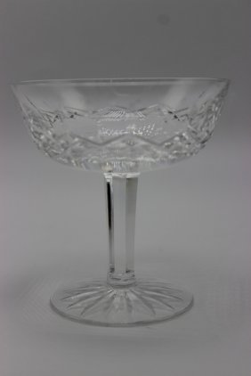 4 Pc. Waterford Crystal Sherbet Glasses