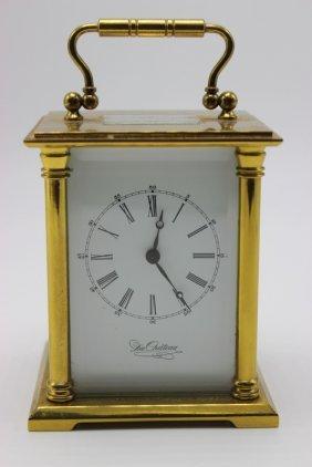 Du Chateau 13 Jewel Carriage Clock