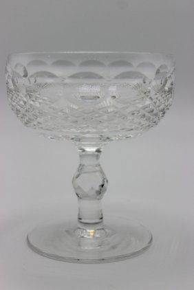 12 Pc. Waterford Crystal Champagne Glasses