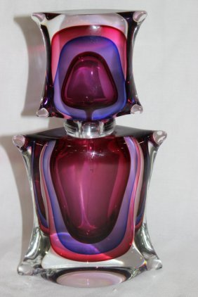 Oggetti Murano Art Glass Perfume Bottle
