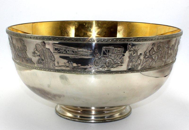 Rare Franklin Mint Bicentennial Sterling Silver Bowl