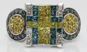 14kt Wg 1.70ct. Diamond Ring