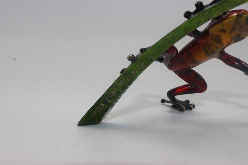 Tim Cotterill Frogman Bronze Figure - 3